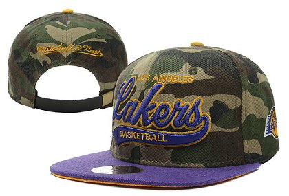 Los Angeles Lakers NBA Snapback Hat XDF-S